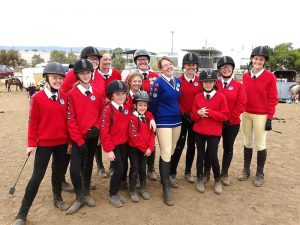 Globe Derby Pony Club - 17FEB19 - Metro Zone Showjumping Day 1